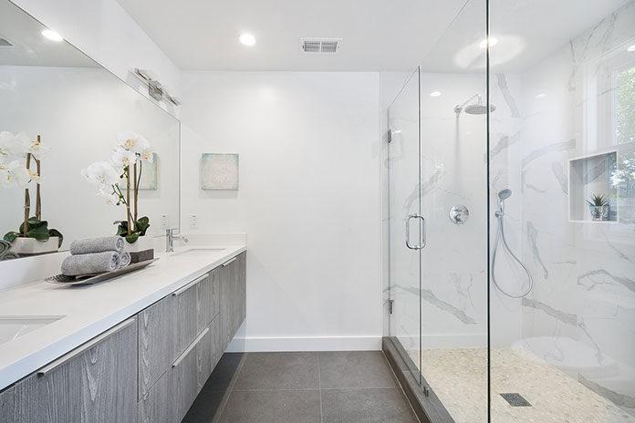 Dyskretny urok detali w łazienkach