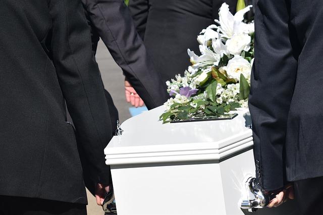 Stosowany ubiór na pogrzebie